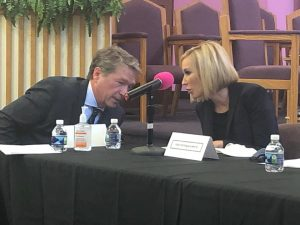 Dave Donaldson and Pastor Paula White